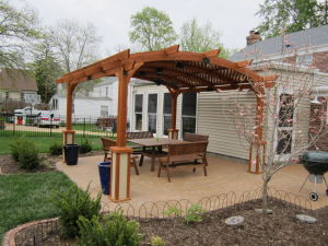 Webster Groves -Pergola